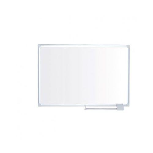 Biała magnetyczna tablica do pisania lux - 1200x900 mm marki B2b partner