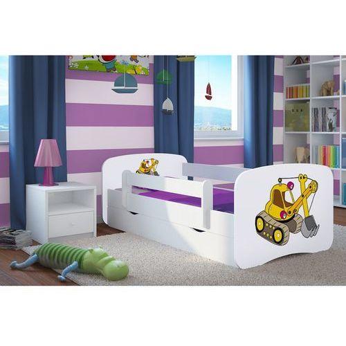 Łóżko dziecięce Kocot-Meble BABYDREAMS KOPARKA Kolory Negocjuj Cenę.