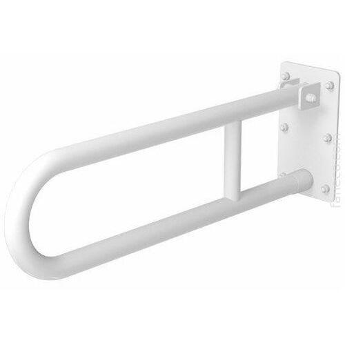 Poręcz uchylna łukowa dla niepełnosprawnych Faneco S32UUWC7P SW B 70 cm