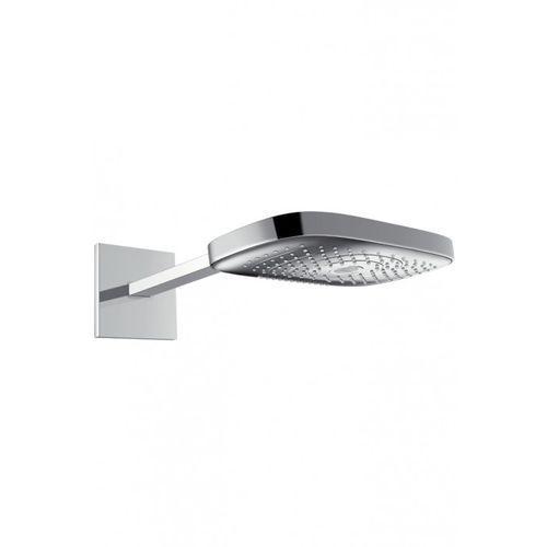 Hansgrohe Głowica prysznicowa raindance select e 300 3jet z ramieniem prysznicowym 390 mm dn15 biały/chrom biały/chrom - 26468400 (4011097720470)
