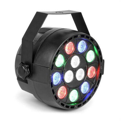 Max party projektor par 12x 1 w rgbw-led 15 w dmx/standalone/dźwięk 7 kanałów