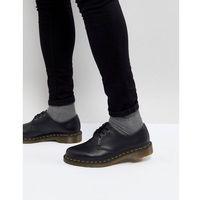 faux leather 1461 3-eye shoes in black - black, Dr martens