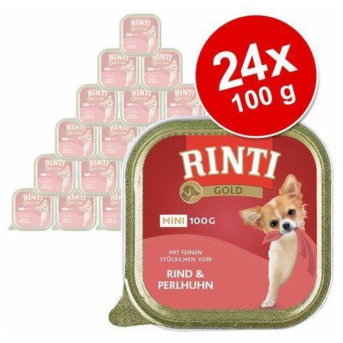gold mini - jeleń i wołowina 100g - 100g marki Rinti