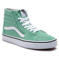 Vans Sneakersy - sk8-hi vn0a38gevmx1 neptune green/true white