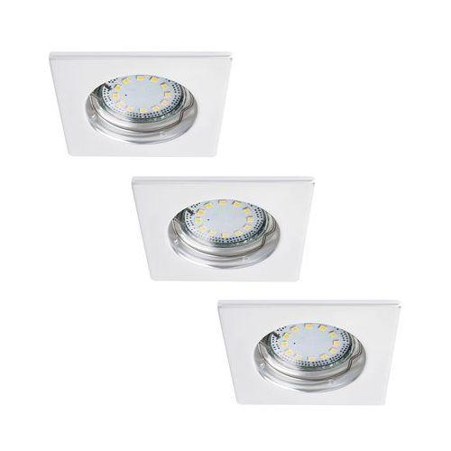 Rabalux 1052 - SET 3x LED oprawa LITE 3xGU10-LED/3W/230V