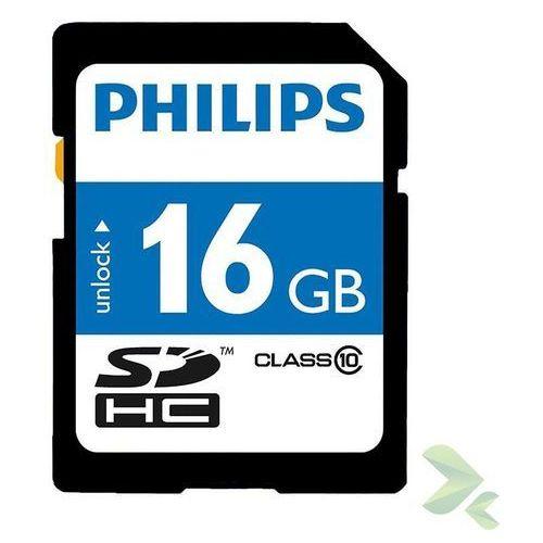 Philips  karta pamięci sdhc 16gb class 10 - szybka wysyłka - 100% zadowolenia. sprawdź już dziś! (8712581627386)