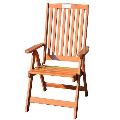 Krzesło rozkładane ogrodowe HOLIDAY lakierowane FSC