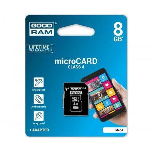 Goodram micro SDHC 8GB Class 4 +adapter