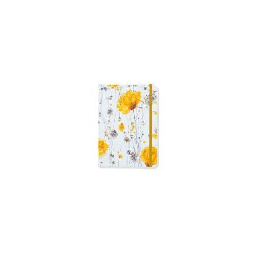 Notatnik mini żółte kwiaty marki Peter pauper press