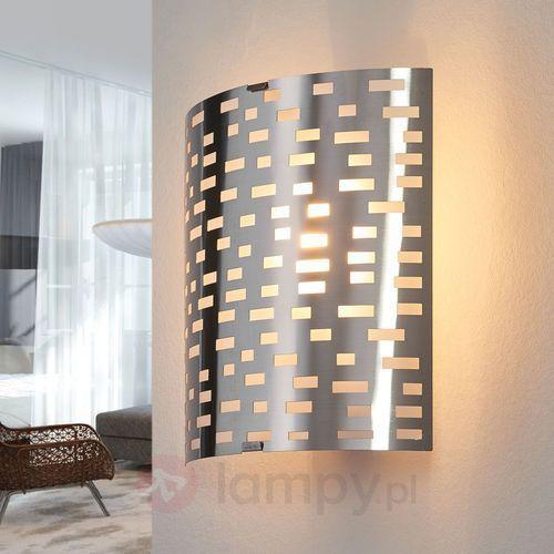 Lampa ścienna Brilliant Melville 94429/13, E14, (DxSxW) 18.5 x 10 x 22 cm, żelazowy (4004353233722)