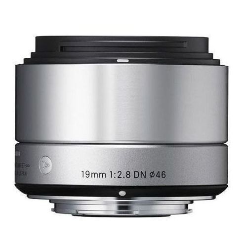 Sigma Obiektyw  19mm f2.8 dn srebrny (sony)