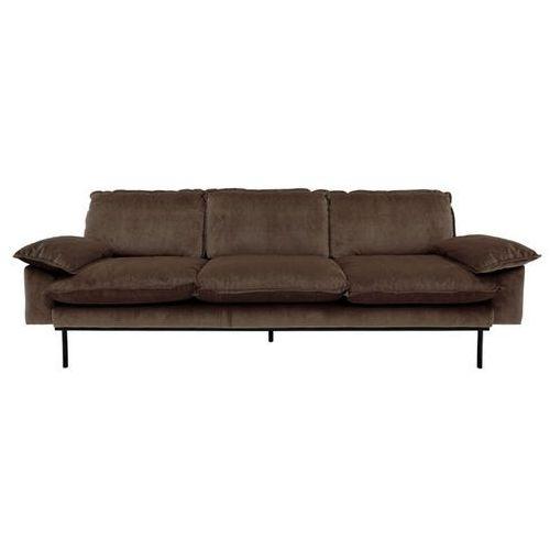 Hk living Sofa 3-osobowa tribeca - różne kolory piwny