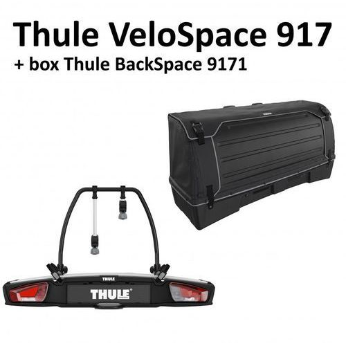 Bagażniki rowerowe velospace 917 + backspace 9171 czarny marki Thule