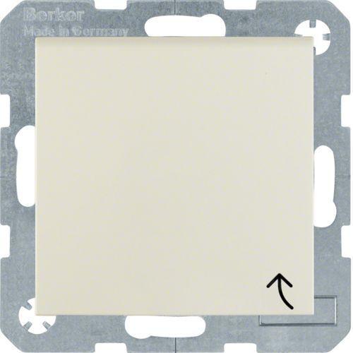 Berker/b.kwadrat gniazdo schuko 16a ip20 z klapką kremowe s.1 47518982 marki Hager polo