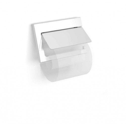 Akcesoria łazienkowe stella Stella new york uchwyt do papieru toaletowego, ruchomy z osłonką 05.442 chrom