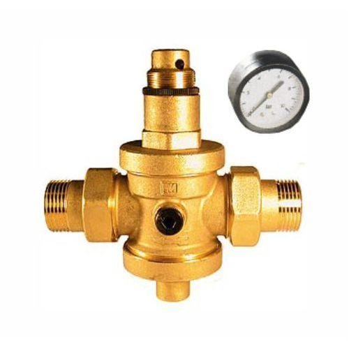 """eurobrass reduktor ciśnienia wody 3/4"""" z manometrem (142.3/4 z/m) marki Malgorani"""
