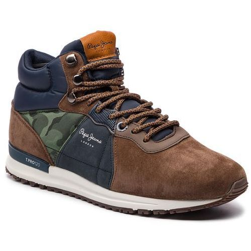 Pepe jeans Sneakersy - tinker pro-boot pms30490 stag 884