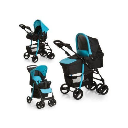 Hauck  wózek dziecięcy slx trioset caviar/aqua (4007923153291)