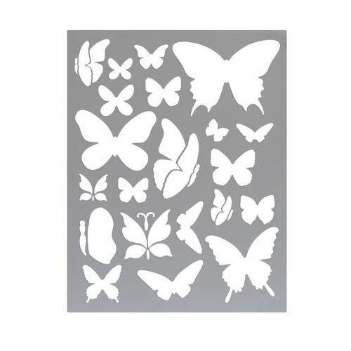 Szablon samoprzylepny motyle l nr 709 marki Jeger