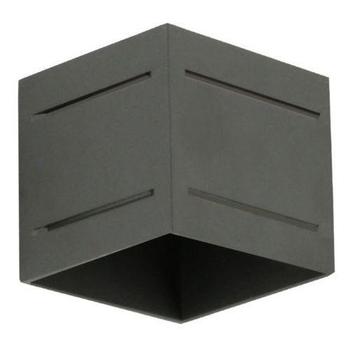 Lampex quado pro plus a 690/ka cza kinkiet lampa ścienna 1x40w g9 czarny
