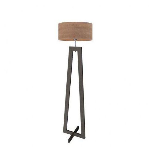 Drewniana lampa stojąca z abażurem BALI ECO, 15610/235