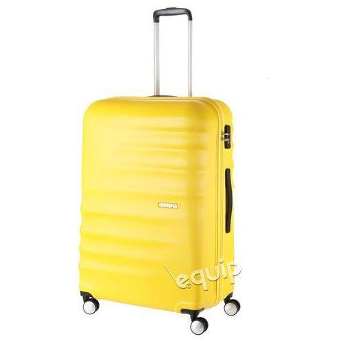 Walizka duża American Tourister Wavebreaker - sunny yellow