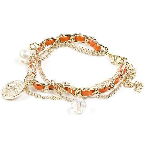 Cloe Bransoletka charmsy orange - bransoletka charmsy orange