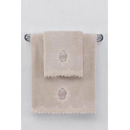 Soft cotton Zestaw podarunkowy małych ręczników destan, 3 szt proszkowa