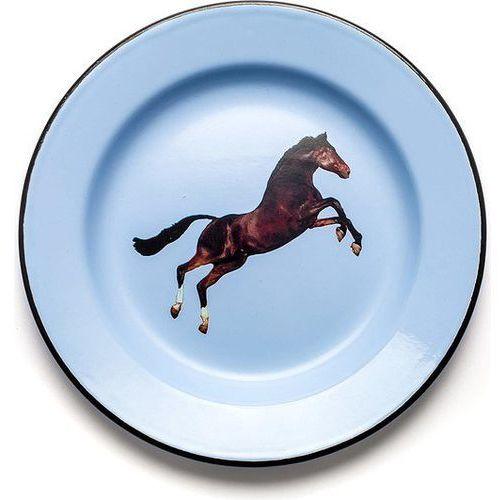 Seletti Talerz wears toiletpaper emaliowany horse (8008215168357)