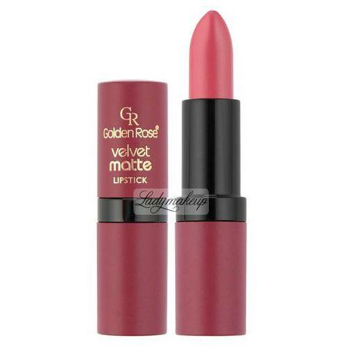 Golden Rose - Velvet matte LIPSTICK - Matowa pomadka do ust - 06 - produkt z kategorii- Błyszczyki do ust