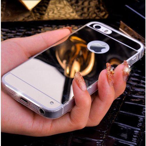 Slim Mirror Case Srebrny | Etui dla Apple iPhone 4 / 4S - Srebrny