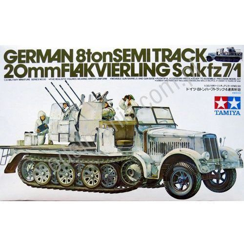 TAMIYA German 8T Half Tr ack Sdkfz 7/1 - Tamiya