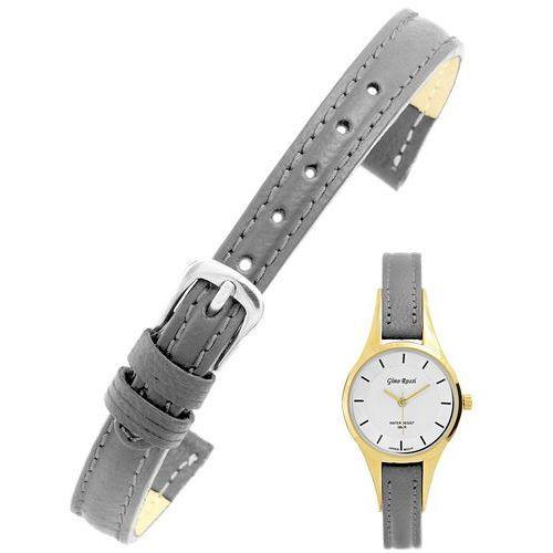 Pasek do zegarka GINO ROSSI model 8154 10mm /zamiennik/ szary