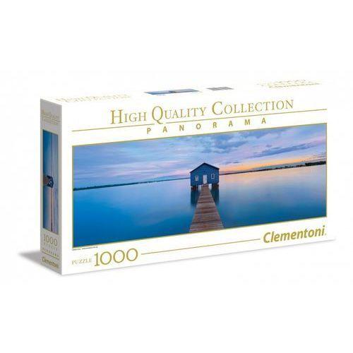 Clementoni 1000 elementów Panorama High Quality Niebieski spokój, 1_629964