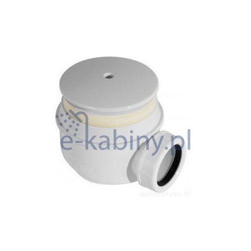 Syfon brodzikowy kryty biały fi 60 A47B (1)