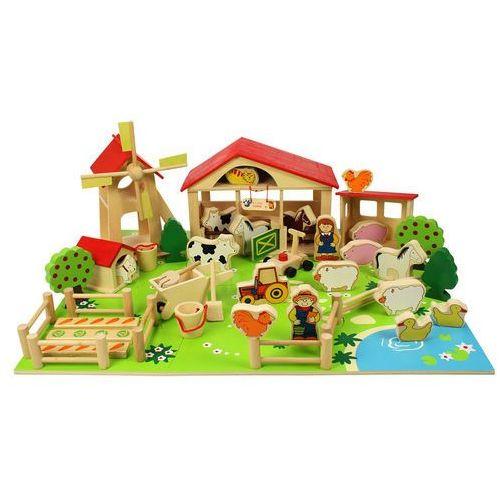 wielka drewniana farma marki Bigjigs toys