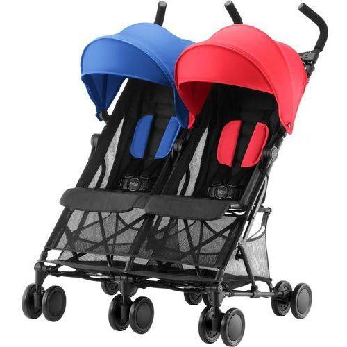 wózek dla rodzeństwa holiday double, red/blue marki Britax römer