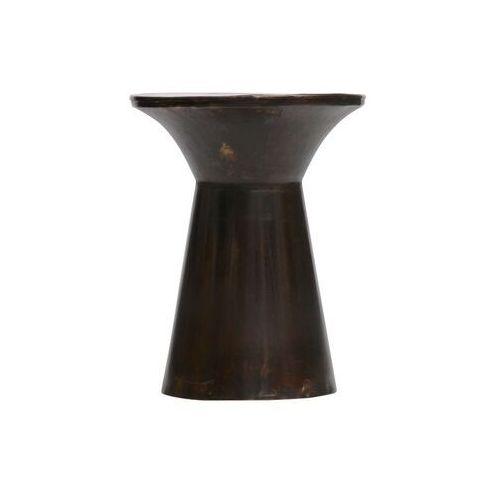 stolik kawowy diaz metalowy brązowy 373689-b marki Woood