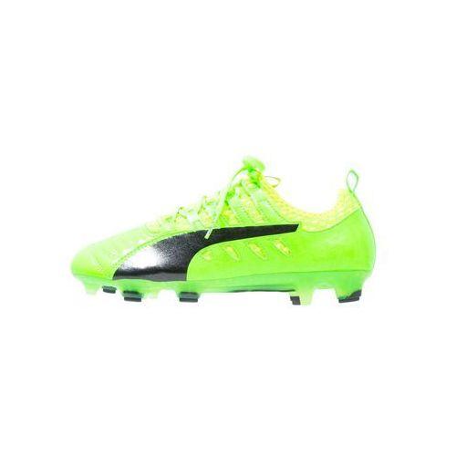Puma EVOPOWER VIGOR 1FG Korki Lanki green gecko/black/safety yellow, towar z kategorii: Piłka nożna