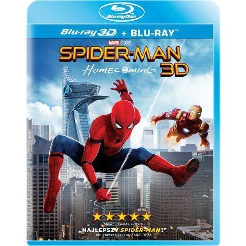 Spider-Man: Homecoming (2D+3D) (Blu-ray) - Jon Watts. DARMOWA DOSTAWA DO KIOSKU RUCHU OD 24,99ZŁ (5903570073083)