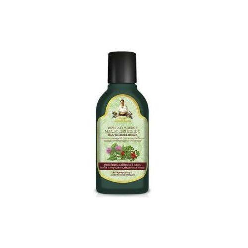Babuszka Agafia Naturalny olejek do włosów - regenerujący 150ml
