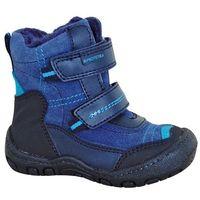 Protetika buty zimowe za kostkę chłopięce Rolo 19 niebieski