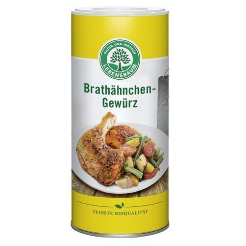 Lebensbaum (przyprawy, herbaty, kawy) Przyprawa do kurczaka pieczonego bio 110 g - lebensbaum