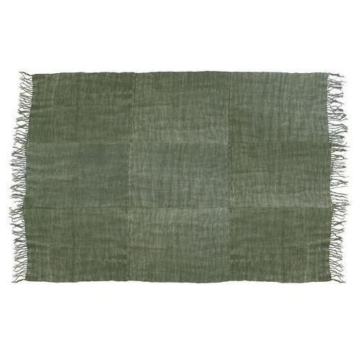 HK Living Lniany dywan w kolorystyce wojskowej zieleni (230x320) TTK3022, TTK3022