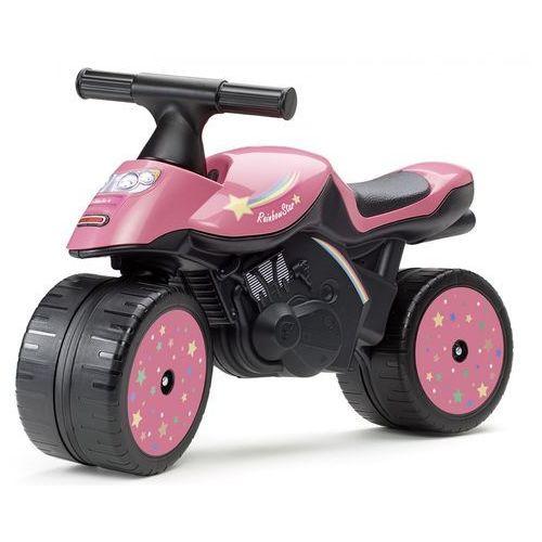 Falk Motocykl Rainbow star różowy (3016200004288)
