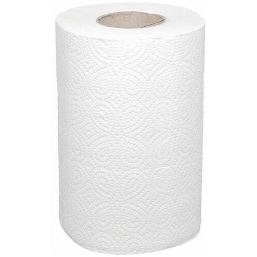Ręcznik papierowy Merida premium mini, śr. 13,5 cm, dł. 40 m, dwuwarstwowy, biały, karton 12 szt.