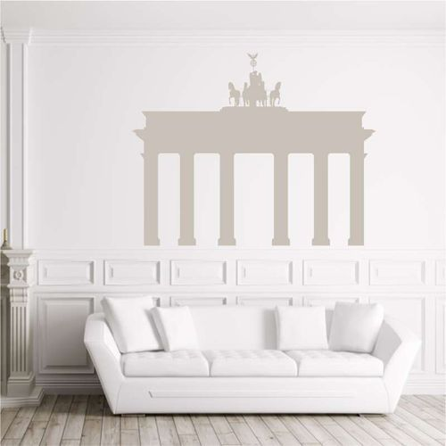 Wally - piękno dekoracji Szablon do malowania brama brandemburska 2281