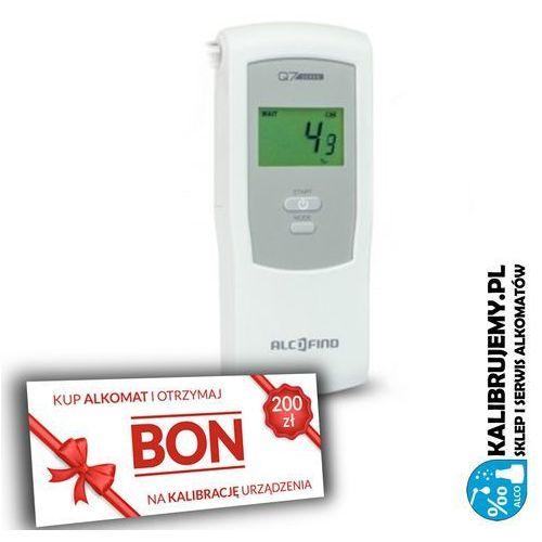 Alkomat  q7 senso + pakiet firma plus bon 200 zł na kalibrację marki Alcofind