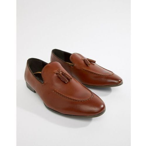 New look apron tassel loafer - tan
