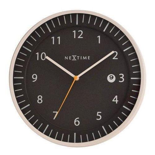 Zegar ścienny Quick czarny, kolor czarny